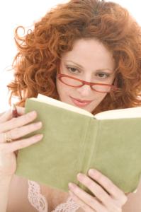 book-woman